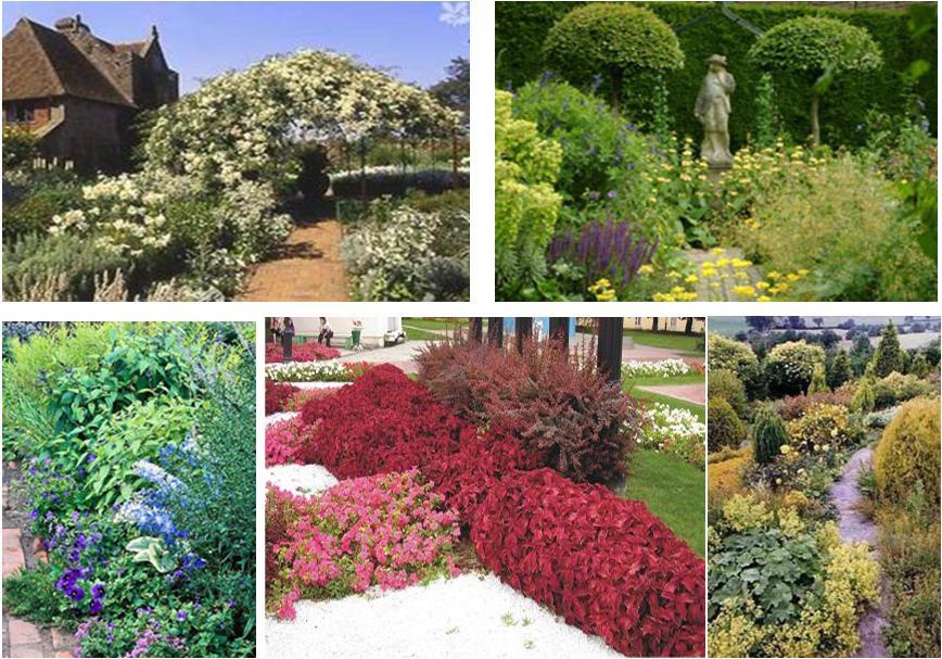 Колористические сады