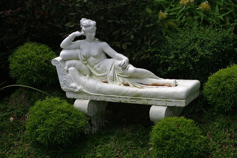 Скульптура в ботаническом саду
