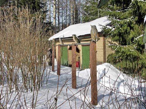 Парк скульптур в Финляндии