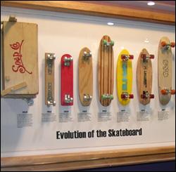 Первые скейтборды