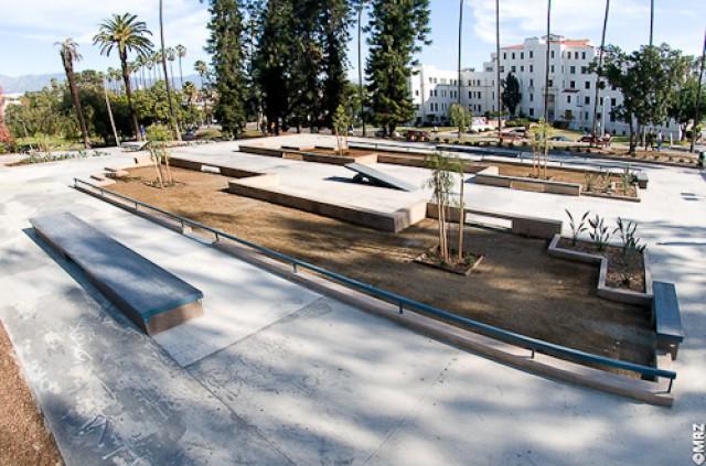 Рис. 4. Фрагмент стрит скейт-парка