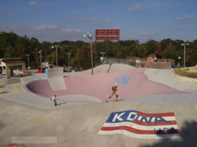 Фрагмент скейт-парка_Кона
