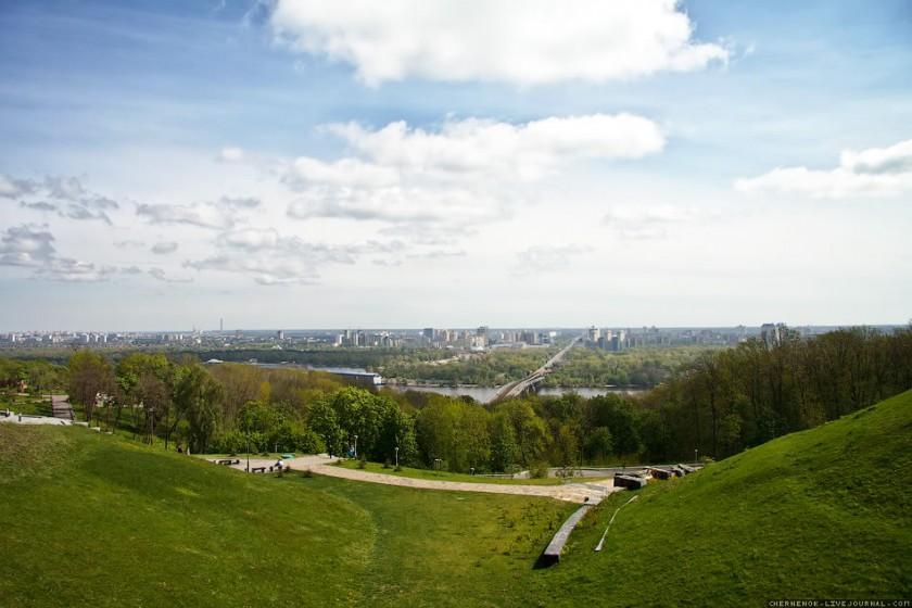 Вид с парка Вечной Славы