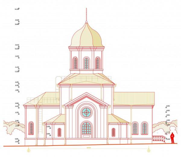 Православный храм Архистратига Михаила