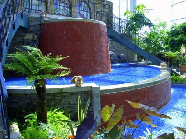 Теплица в японском саду «Хамамацу»
