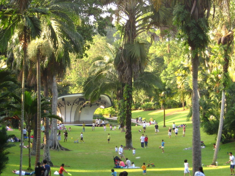 Palm Valley, Ботанический сад