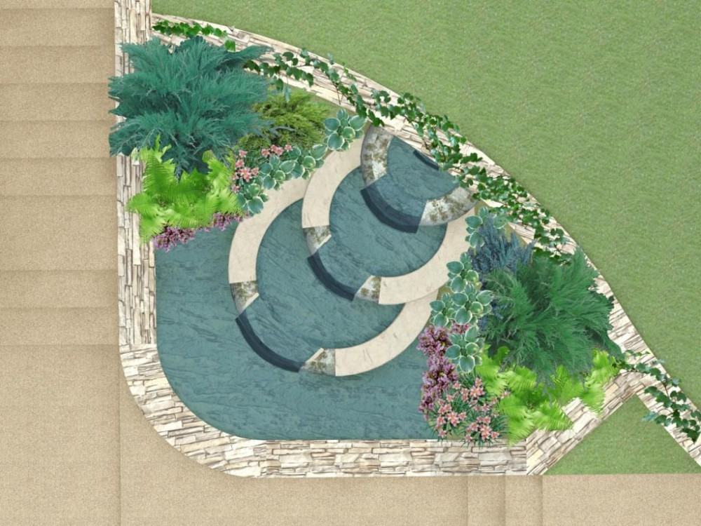проектирование декоративного водоема